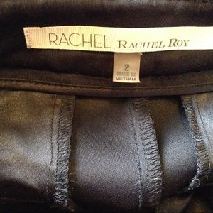 RACHEL Rachel Roy Pants - RACHEL RACHEL ROY Vegan Faux Leather Trousers